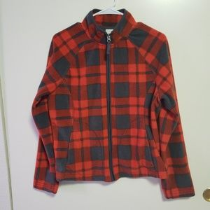 Merona Red Plaid Jacket M/M